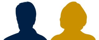 silhouette homme et femme